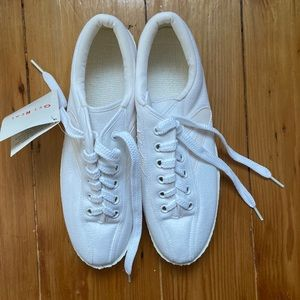 TRETORN NYLITE PLUS white sneakers